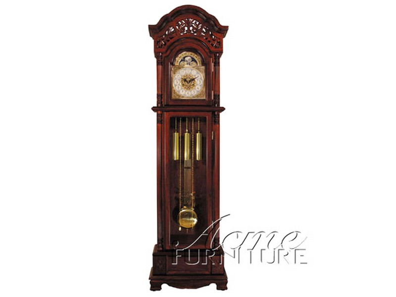 Cherry Traditional Grandfather Clock with Chime