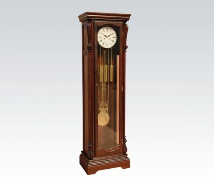 Shop Grandfather Clock - Dark Walnut Finish