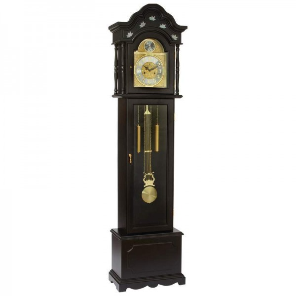 ... Clocks → Grandfather Clocks → Black Finish Grandfather Clock