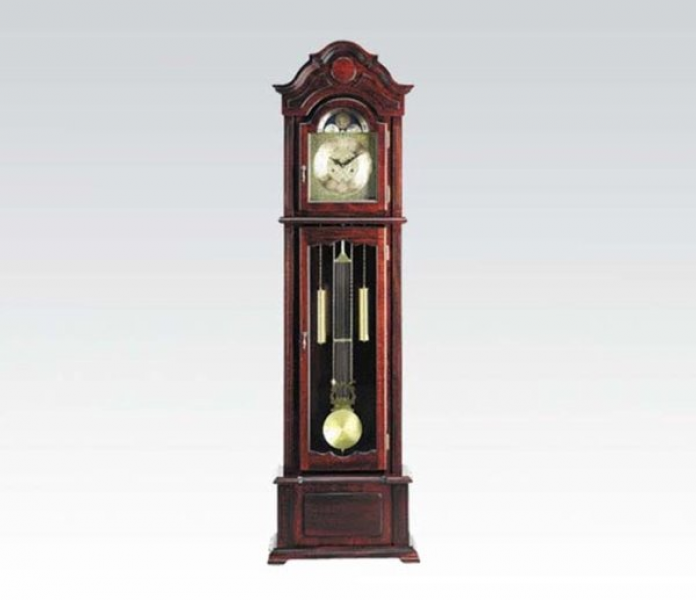 Shop Grandfather Clock- Dark Walnut Finish.