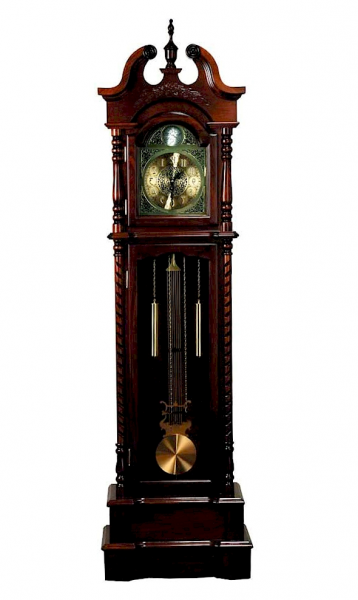 Beautiful Large Traditional Gold Pendulum Grandfather Clock In All ...