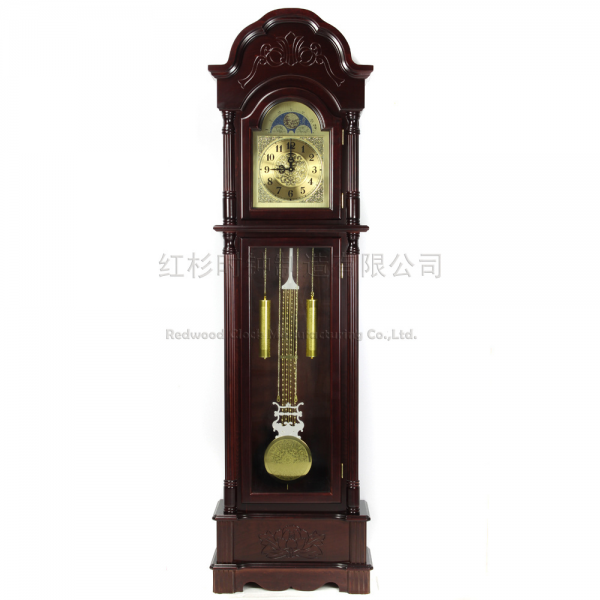 grandfather clock grandfather clock chime bell stand living room wood ...