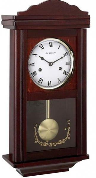 Details about Wall Clocks: Grandfather Wood Wall Clock With Chime