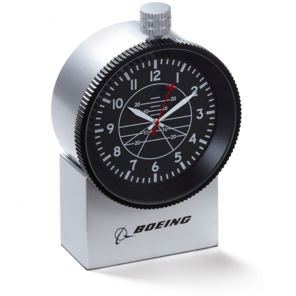 ... › Aviation Gifts › Clocks › Boeing Altimeter Chrome Desk Clock