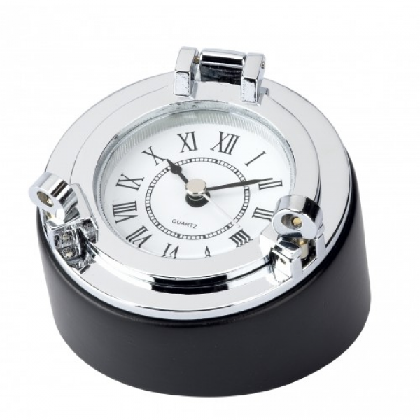 Home » Clock/desk/box - porthole, chrome