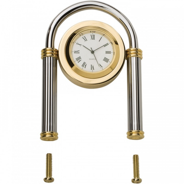 Solid Brass and Chrome Desk Clock Hardware Kit - Rockler Woodworking ...